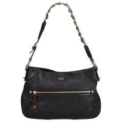 Gucci Black Small Capri Shoulder Bag