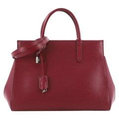 Louis Vuitton Marly Handtasche aus Epi Leder MM