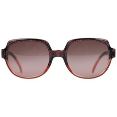 Christian Dior Vintage Brown Women Sunglasses Mod. 2020 New Old Stock