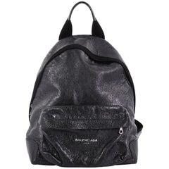 Balenciaga Navy Backpack Leather