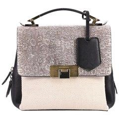 Balenciaga Le Dix Soft Cartable Top Handle Bag Mixed Media Mini