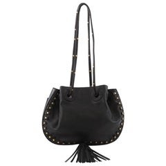 Chloe Inez Bucket Bag Leather Small