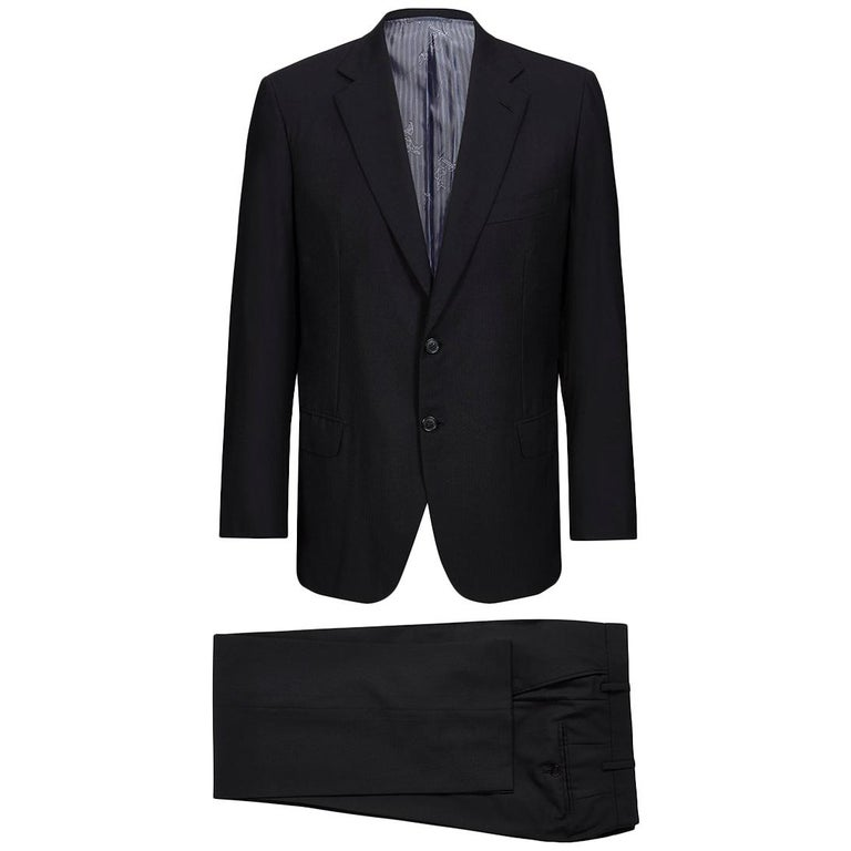 1d54d11a425c48 Brioni Parlamento Two-Piece Wool Suit For Sale at 1stdibs