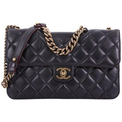 Chanel Perfect Edge Flap Bag Quilted Calfskin Jumbo