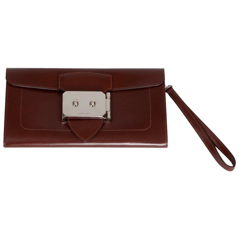 Hermes Goodlock Clutch Bag  For Sale