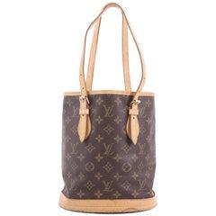 Louis Vuitton Petit Bucket Bag Monogram Canvas