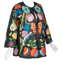 Chloè Multicolored Floral Jacket, 1980s