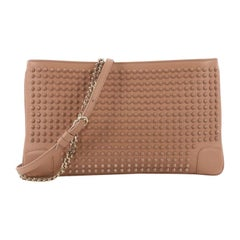 Christian Louboutin Loubiposh Clutch Spiked Leather,