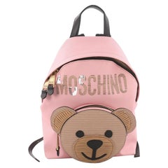 Moschino Teddy Bear Backpack Embellished Leather