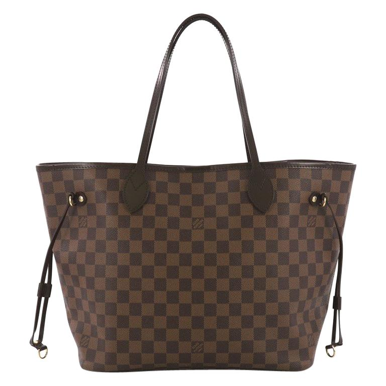 Louis Vuitton Neverfull Tote Damier MM For Sale