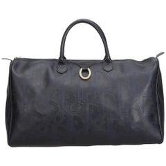 Dior Blue Oblique Duffle Bag