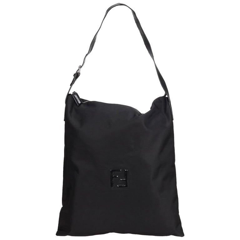 2ba324bbde23 Fendi Black Nylon Tote Bag at 1stdibs