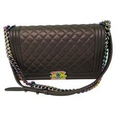 Chanel Boy Bag Bronze Mermaid