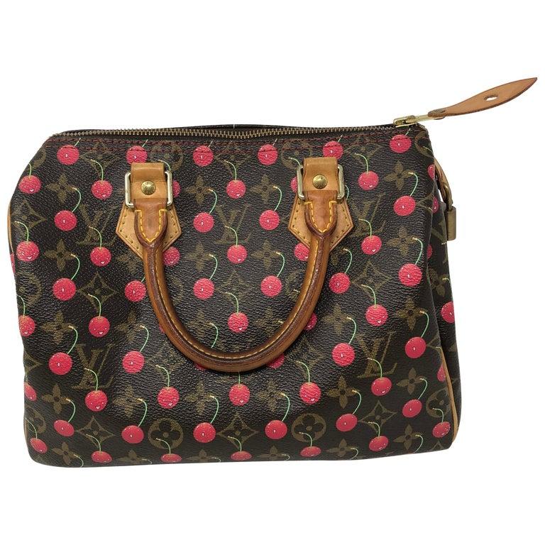 Louis Vuitton Cherry Speedy 25 For Sale at 1stdibs d3e821da607b8