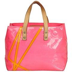Louis Vuitton Pink Vernis Robert Wilson Reade PM