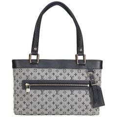 Louis Vuitton Black Mini Lin Lucille PM