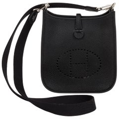 New in Box Hermes Etain Mini Evelyne Crossbody Bag