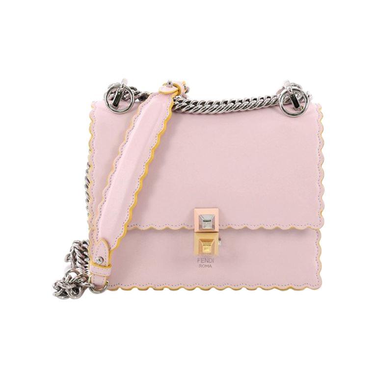 77941d50a2 Fendi Kan I Handbag Leather Small For Sale at 1stdibs