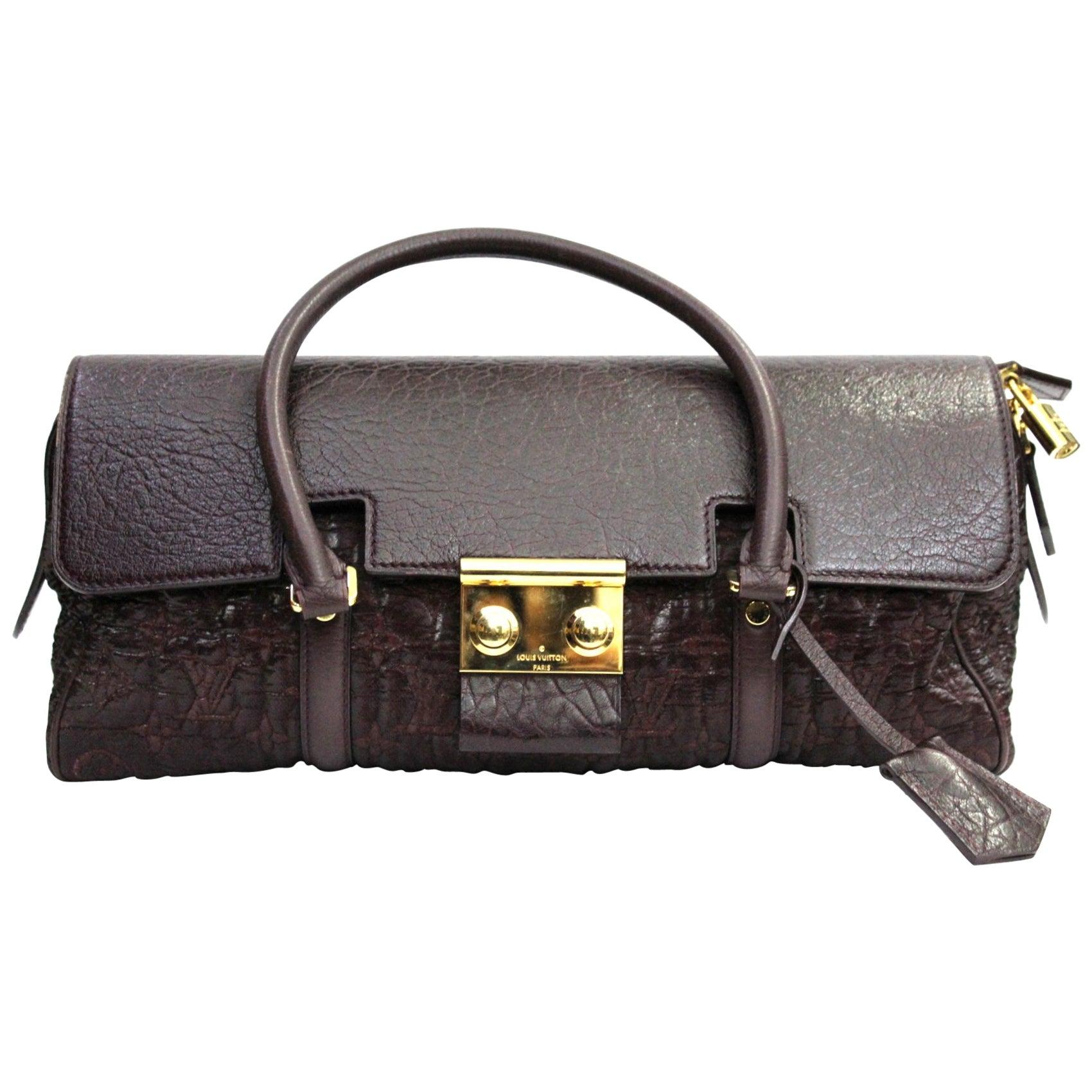 af2f13c99691 LOUIS VUITTON Limited Edition Amethyst Monogram Volupte Beaute Bag at  1stdibs