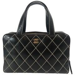 Chanel Surpique Bowler Bag