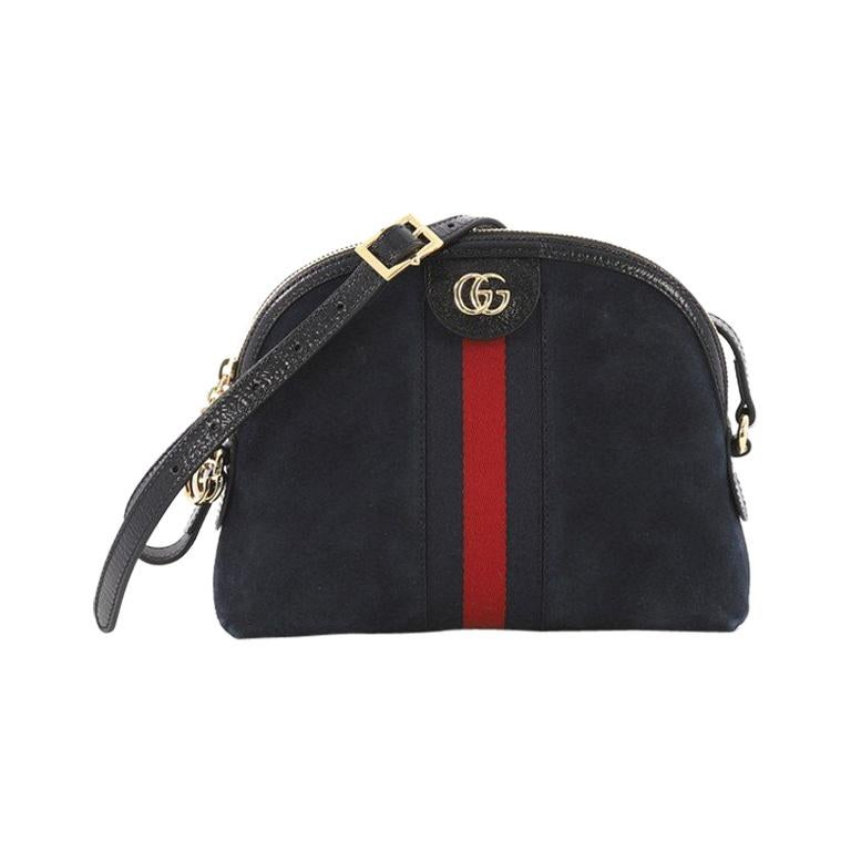7ac764ffb655 Gucci Ophidia Dome Shoulder Bag Suede Small For Sale at 1stdibs