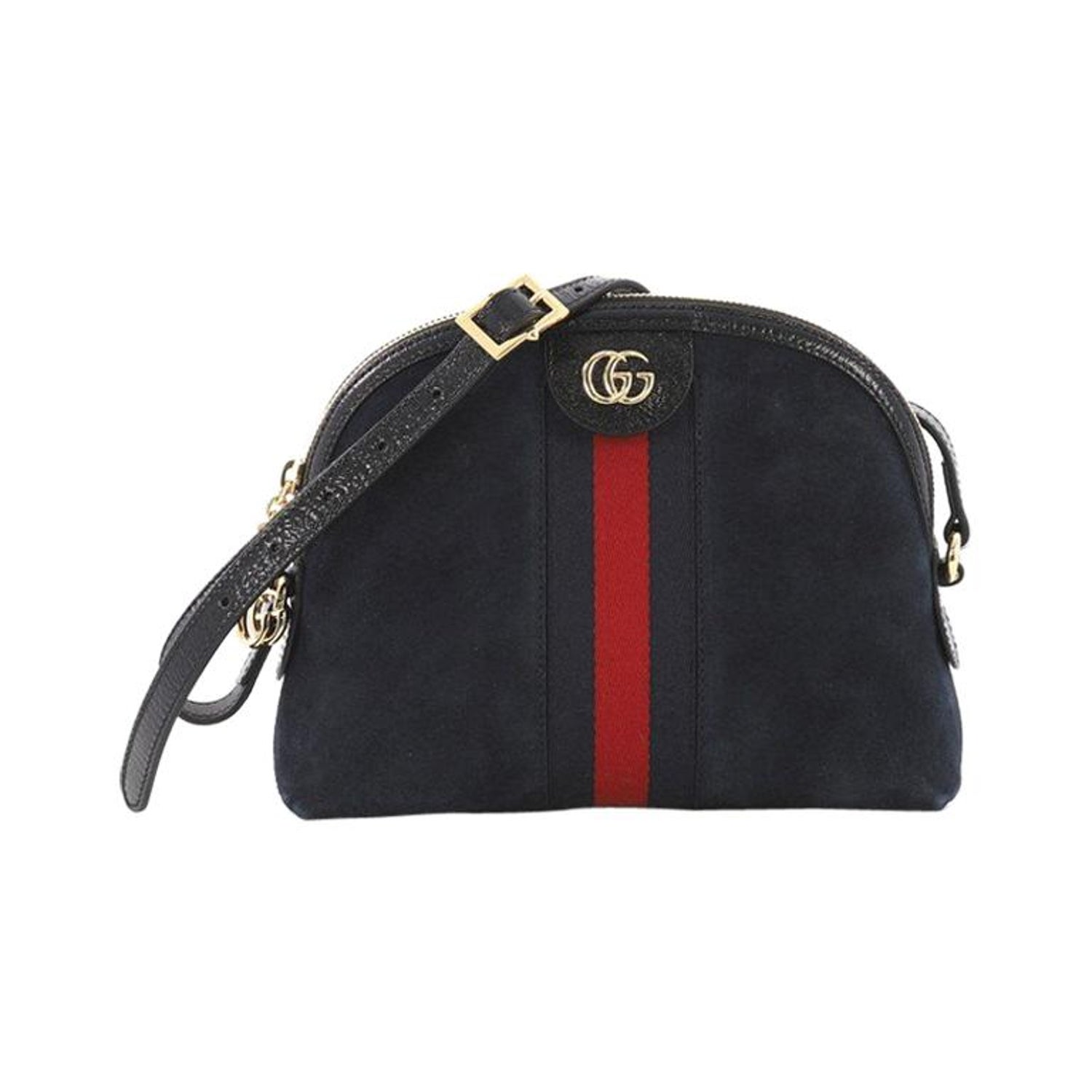 e1d42f8d9 Gucci Dionysus Web Stripe Small Leather Shoulder Bag