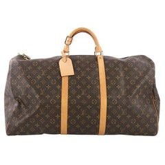 Louis Vuitton Keepall Bag Monogram Canvas 60