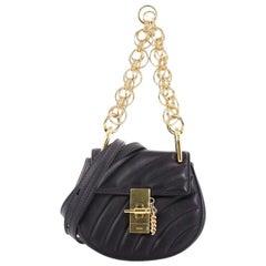 Chloe Drew Bijou Crossbody Bag Quilted Leather Nano