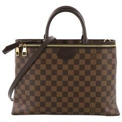 Louis Vuitton Brompton Handbag Damier