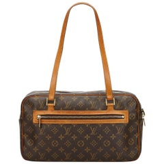 Louis Vuitton Brown Monogram Cite GM