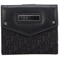 Dior Black Oblique Small Wallet