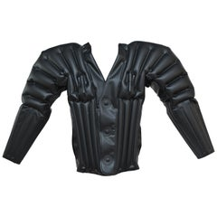 Incredible Rare 1987  Issey Miyake Rubber Inflatable Jacket