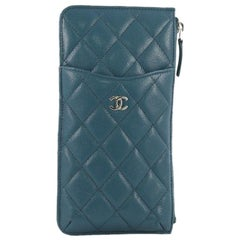 Chanel Classic Phone Case Pouch Quilted Caviar