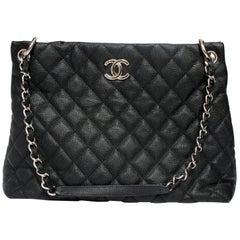 Chanel Single Strap Limited Edition Easy Caviar Grand Shop Zip Bag