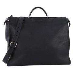 Fendi Selleria Peekaboo Monster Handbag Leather XL