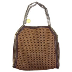 Stella McCartney Brown Woven Tote