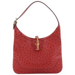 Hermes Trim Handbag Ostrich 23