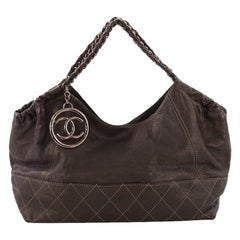 Chanel Baby Coco Cabas Quilted Leather Large