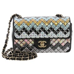 1fb09d6d7a37 Chanel Mosaic Flap Bag Embellished Lambskin Small