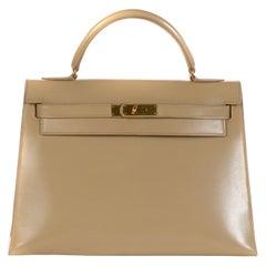 Hermes Kelly 32cm Box Beige