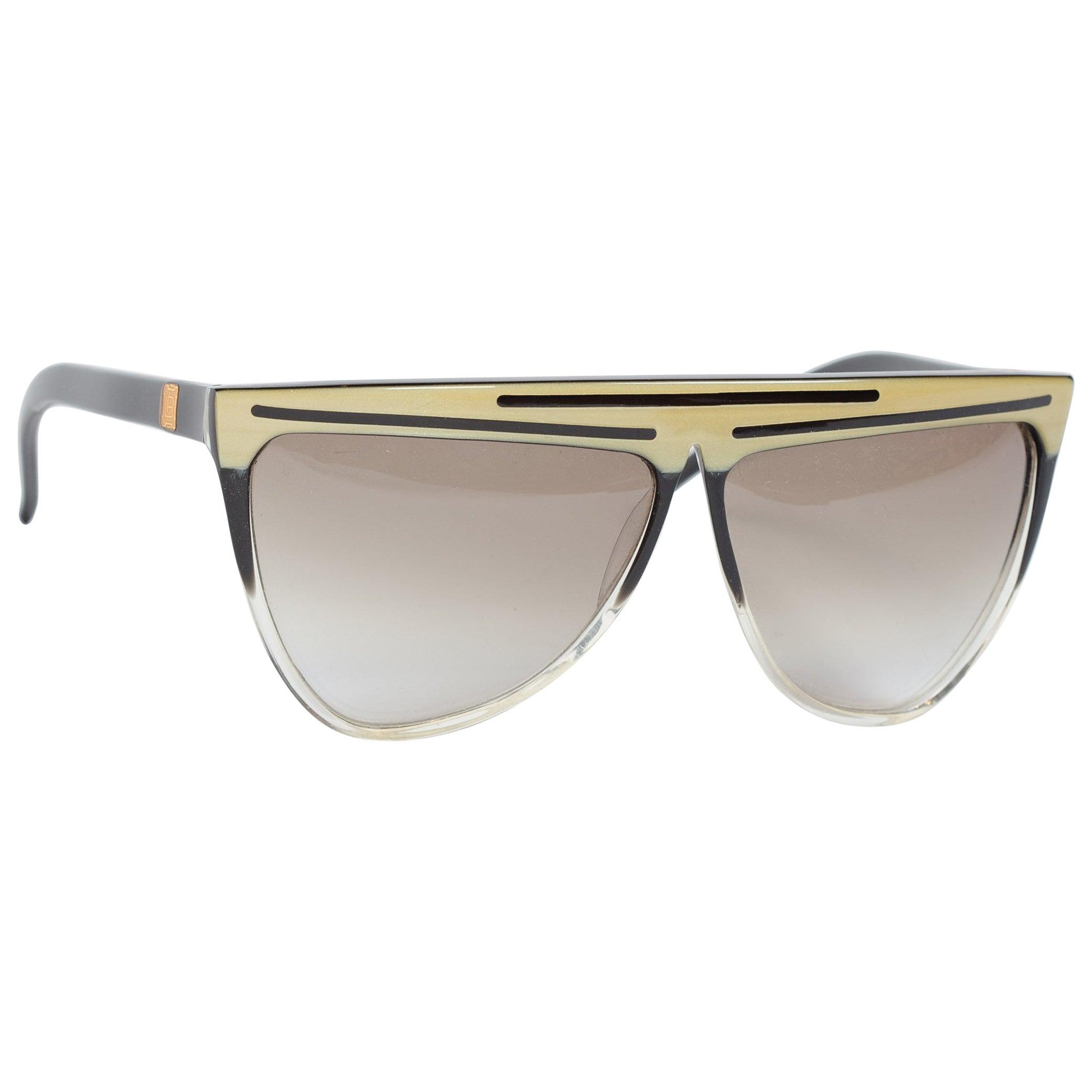 1980S Laura Biagiotti Ombre Italian Sunglasses