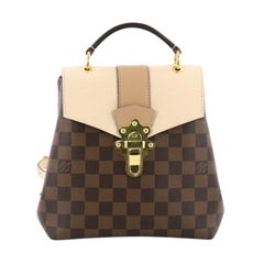 Louis Vuitton Clapton Backpack Damier Canvas and Leather
