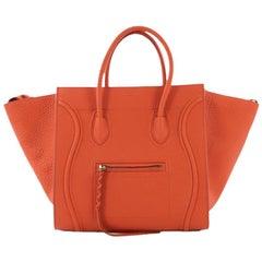 Celine Phantom Handbag Grainy Leather Medium