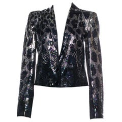 New Gucci F/W 2009 Runway Ad Evening Coat Jacket Sz 40