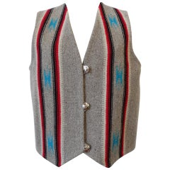 Centinela Traditional Arts Chimayo Wool Vest