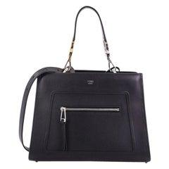 Fendi Runaway Handbag Leather Small