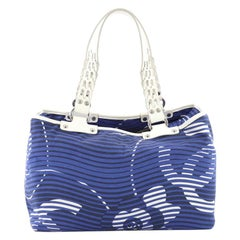 Chanel Camellia Beach Tote Printed Terry Cloth Large