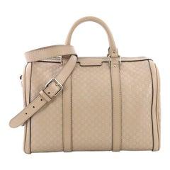 Gucci Joy Boston Bag Microguccissima Leather Medium
