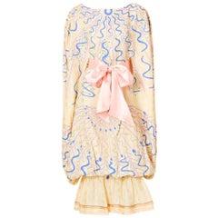 Zandra Rhodes Iconic Dress Late 70's