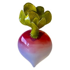 French Radish Statement Pin by Cilea Paris